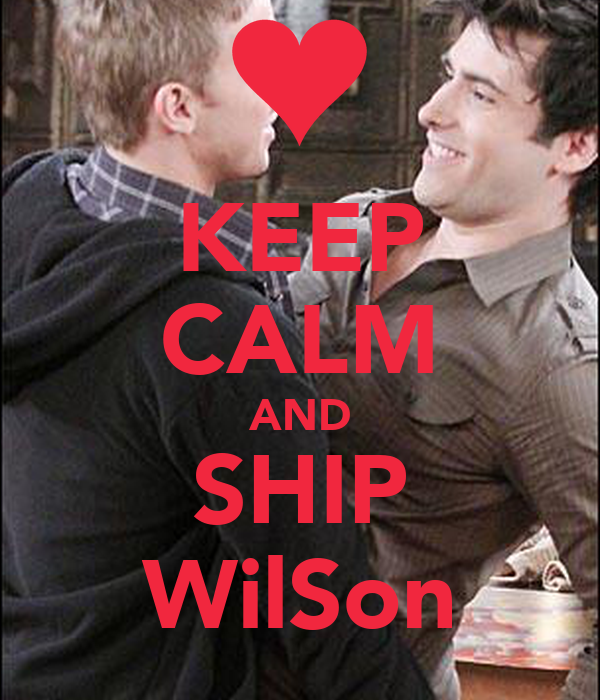 KEEP CALM AND SHIP WilSon