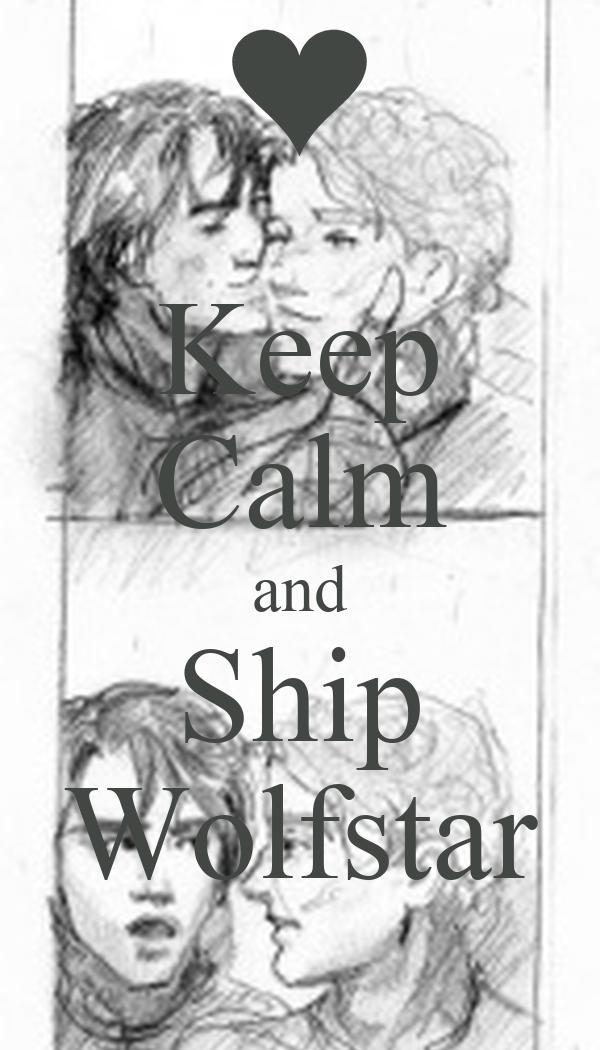Keep Calm and Ship Wolfstar