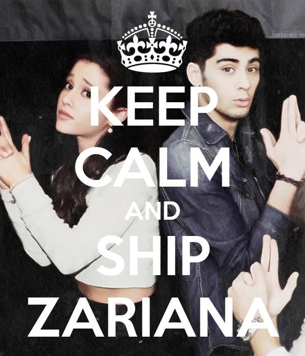 KEEP CALM AND SHIP ZARIANA