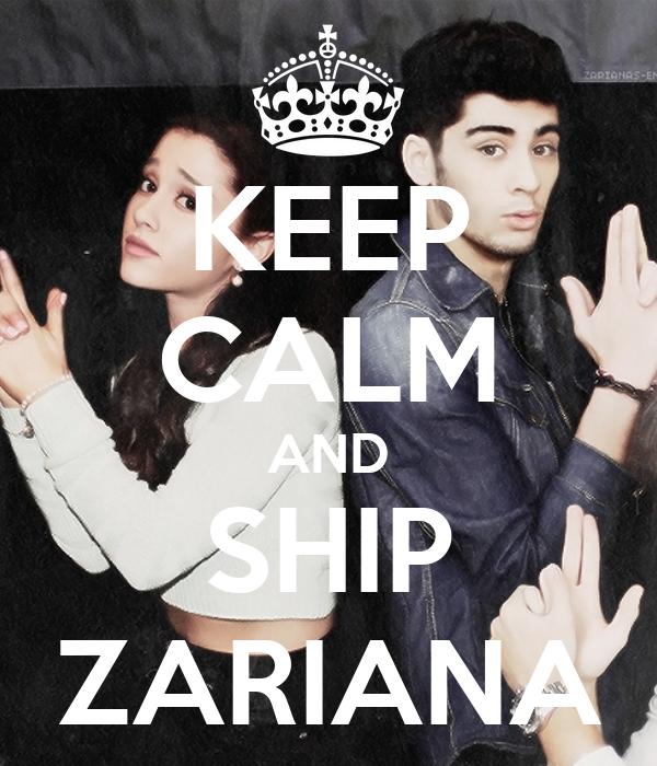 KEEP CALM AND SHIP ZARIANA