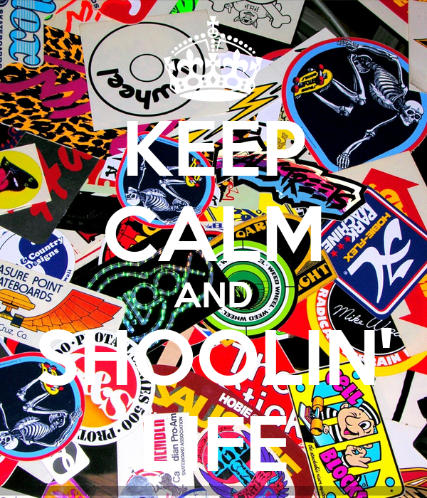 KEEP CALM AND SHOOLIN' LIFE
