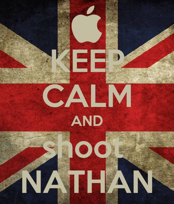 KEEP CALM AND shoot  NATHAN