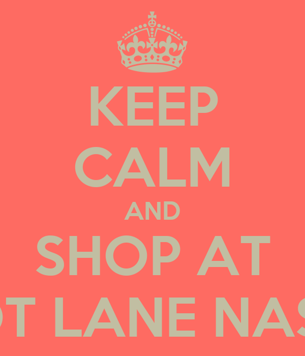 KEEP CALM AND SHOP AT APRICOT LANE NASHVILLE