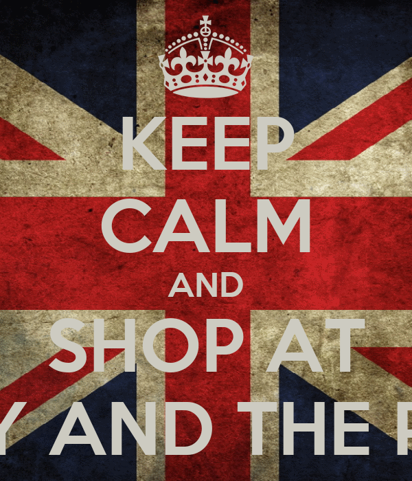 KEEP CALM AND SHOP AT LADY AND THE PUNK