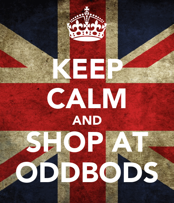 KEEP CALM AND SHOP AT ODDBODS