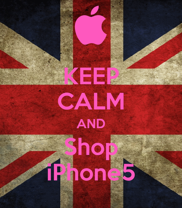 KEEP CALM AND Shop iPhone5