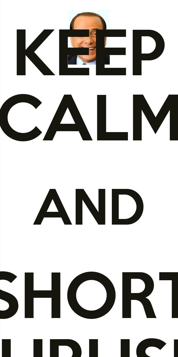 KEEP CALM AND SHORT EURUSD