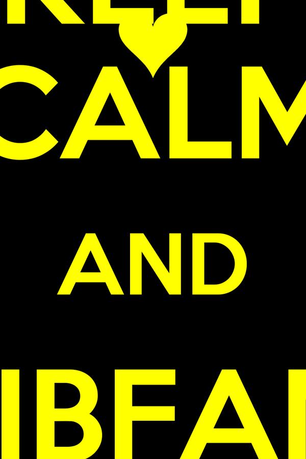 KEEP CALM AND SIBFAM ON