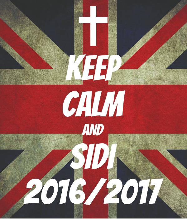 KEEP CALM AND SIDI 2016/2017