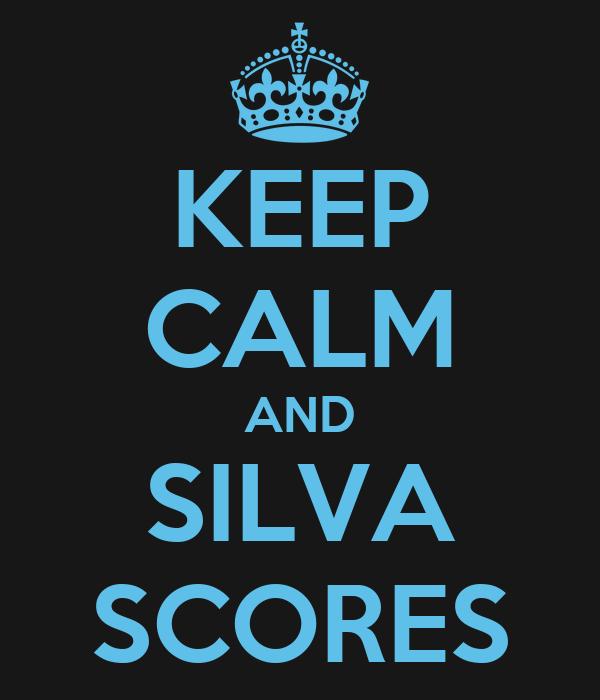KEEP CALM AND SILVA SCORES