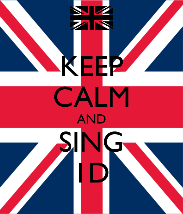 KEEP CALM AND SING 1D