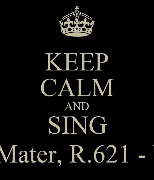 KEEP CALM AND SING Stabat Mater, R.621 - Vivaldi