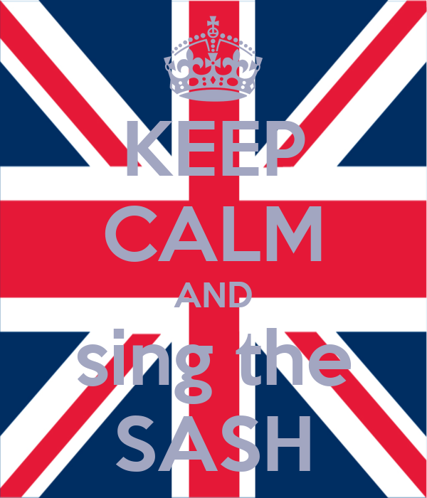 KEEP CALM AND sing the SASH