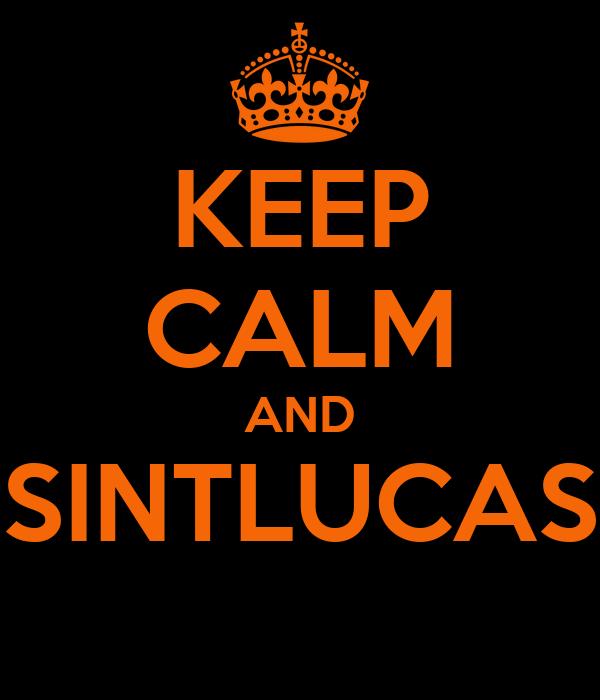 KEEP CALM AND SINTLUCAS