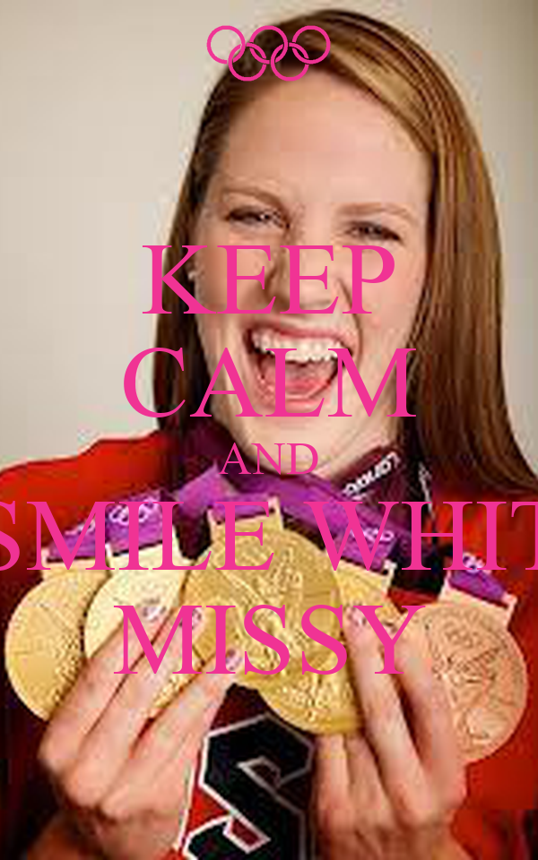 KEEP CALM AND SMILE WHIT MISSY