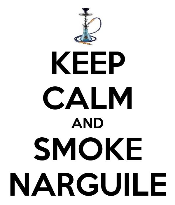 KEEP CALM AND SMOKE NARGUILE