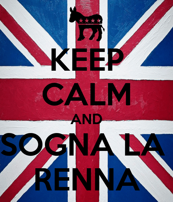 KEEP CALM AND SOGNA LA  RENNA