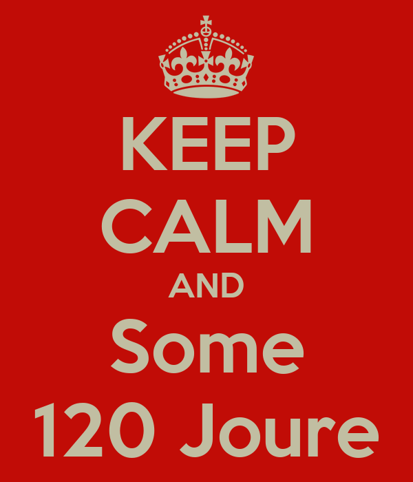 KEEP CALM AND Some 120 Joure
