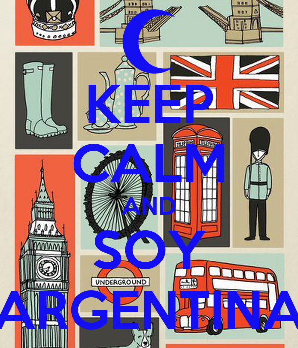 KEEP CALM AND SOY ARGENTINA