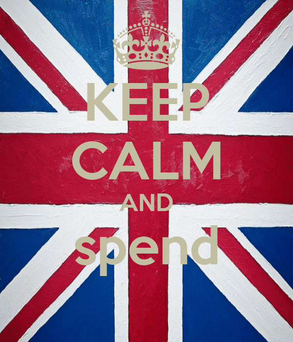 KEEP CALM AND spend