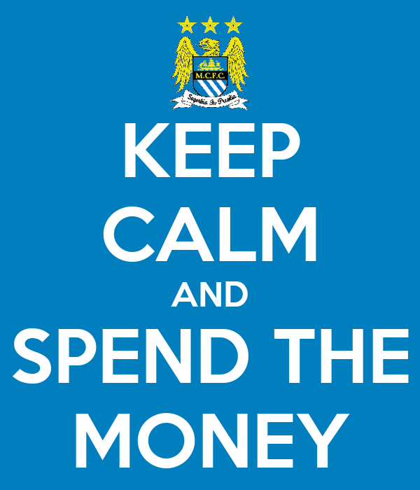 KEEP CALM AND SPEND THE MONEY