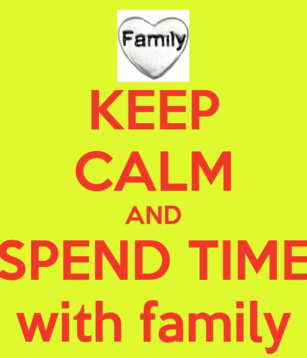 spending time with family essay