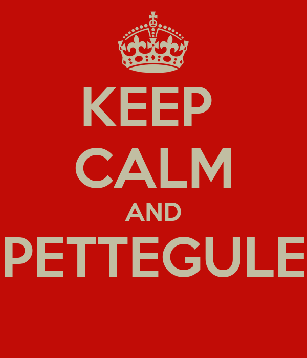 KEEP  CALM AND SPETTEGULES