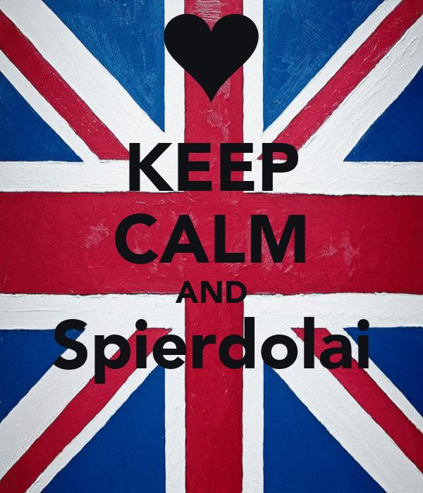 KEEP CALM AND Spierdolai