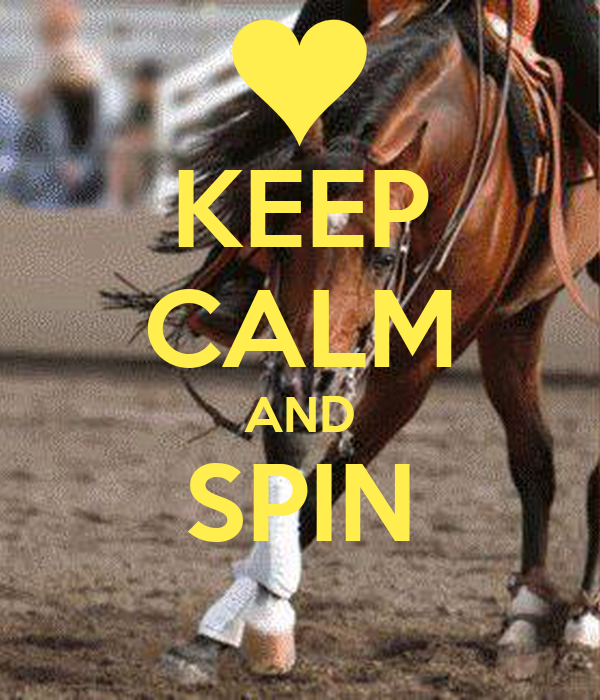 KEEP CALM AND SPIN