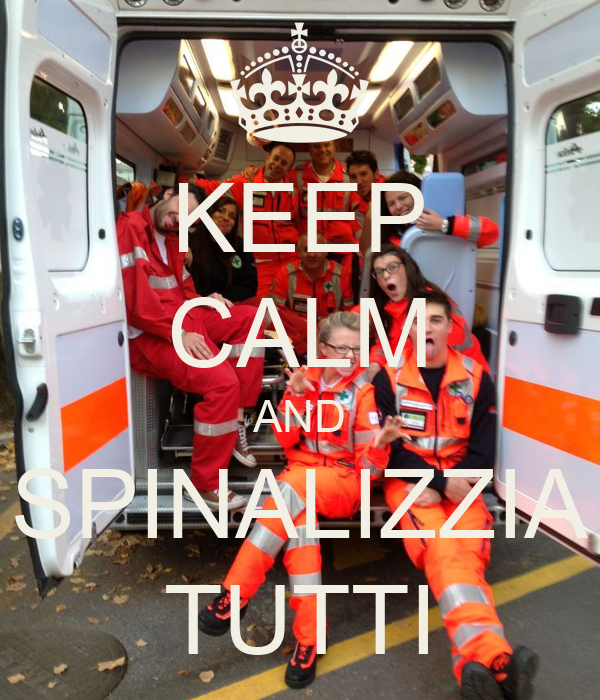 KEEP CALM AND SPINALIZZIA TUTTI