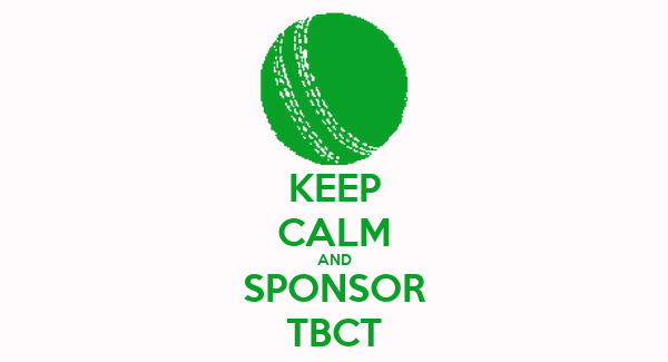 KEEP CALM AND SPONSOR TBCT