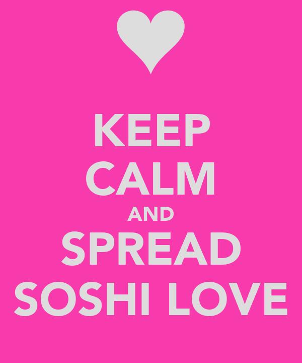 KEEP CALM AND SPREAD SOSHI LOVE