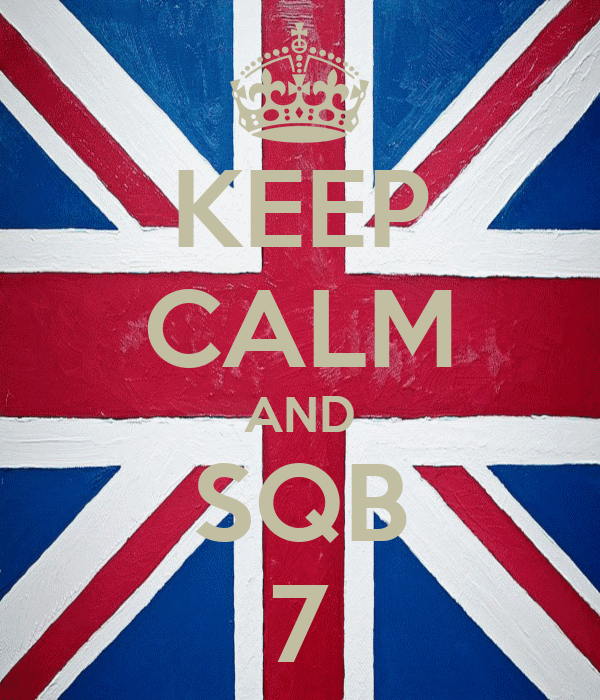 KEEP CALM AND SQB 7