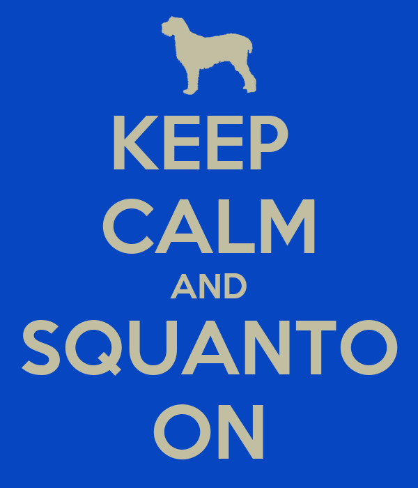 KEEP  CALM AND SQUANTO ON