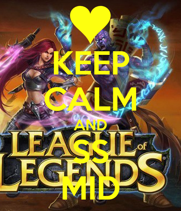 KEEP CALM AND SS MID