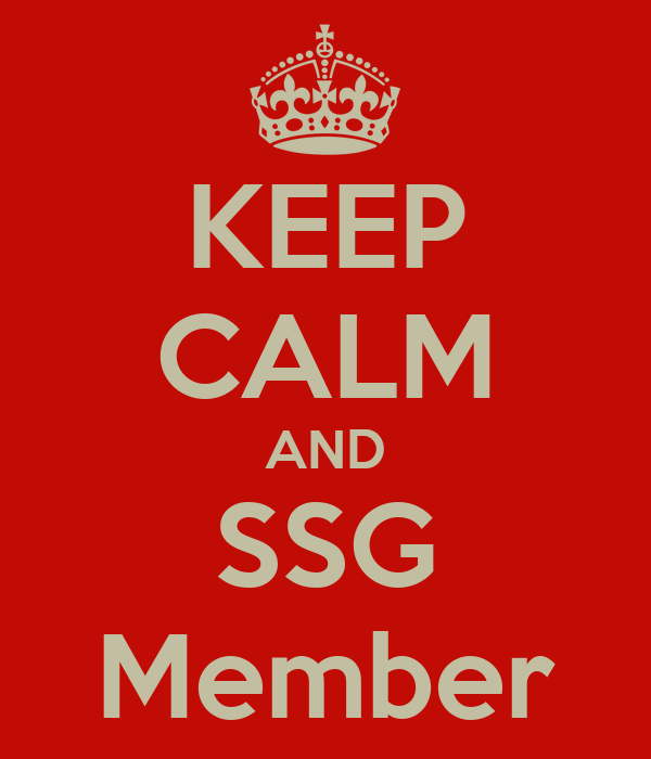 KEEP CALM AND SSG Member