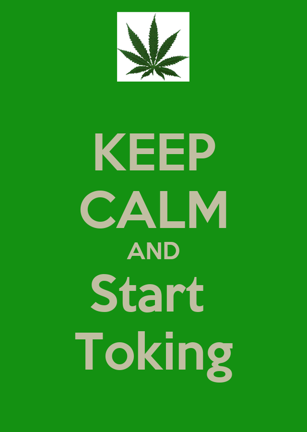 KEEP CALM AND Start  Toking