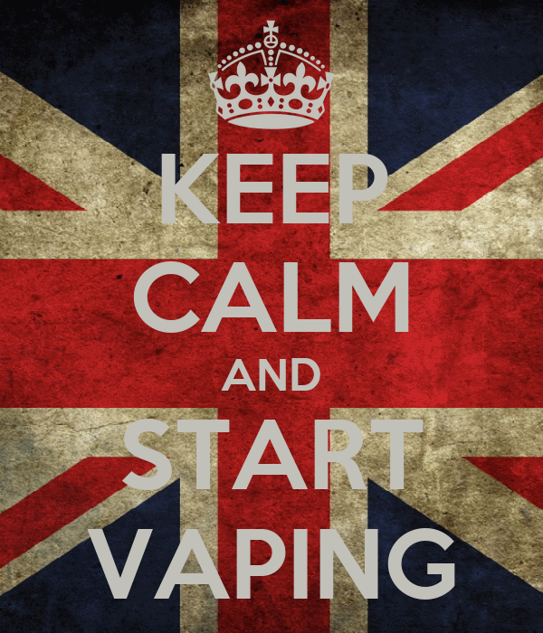 KEEP CALM AND START VAPING