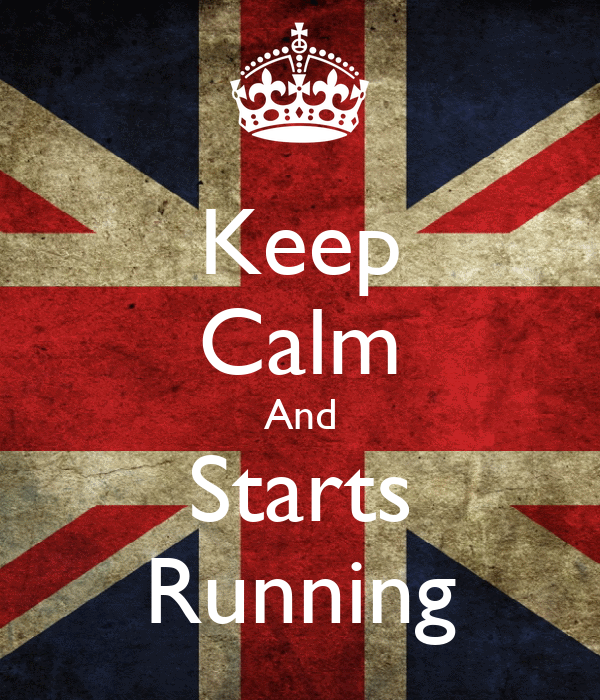 Keep Calm And Starts Running