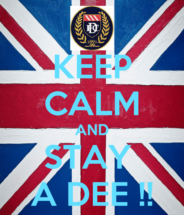 KEEP CALM AND STAY  A DEE !!