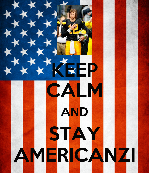 KEEP CALM AND STAY AMERICANZI