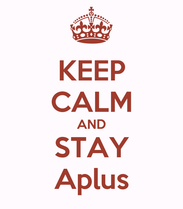 KEEP CALM AND STAY Aplus