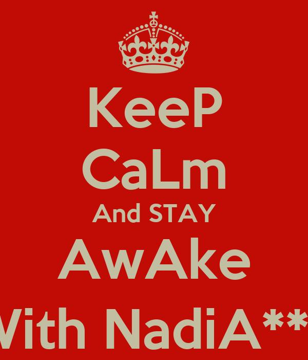 how to keep someone awake