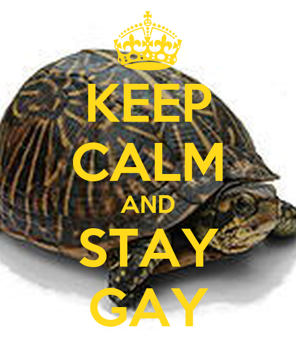 KEEP CALM AND STAY GAY
