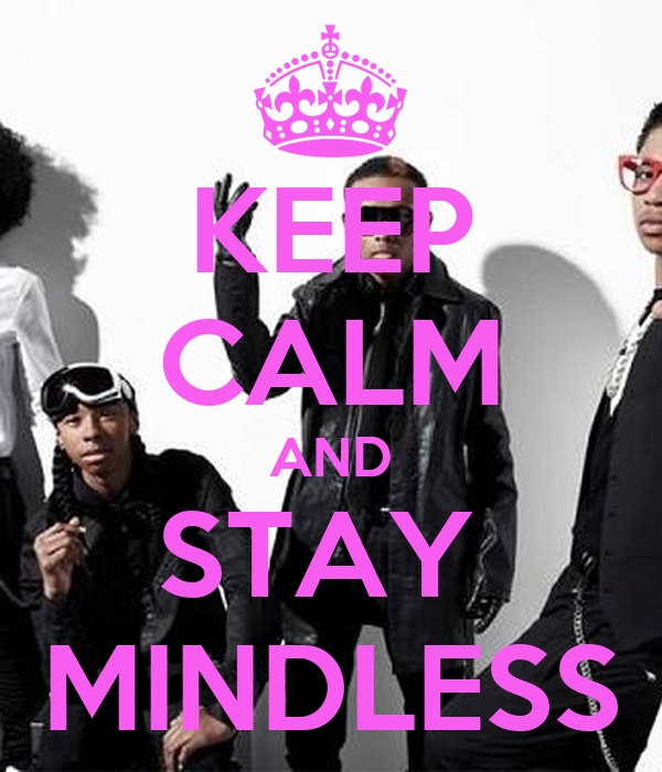 keep calm and stay mindless poster kierra keep calmo