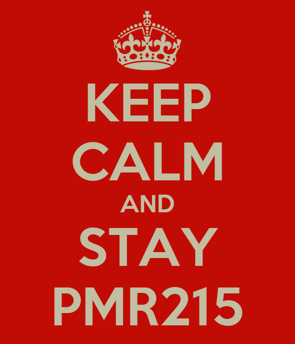 KEEP CALM AND STAY PMR215