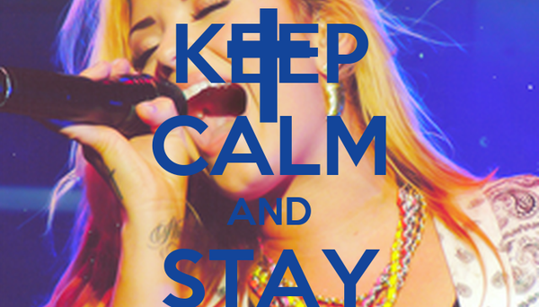 KEEP CALM AND STAY STRON