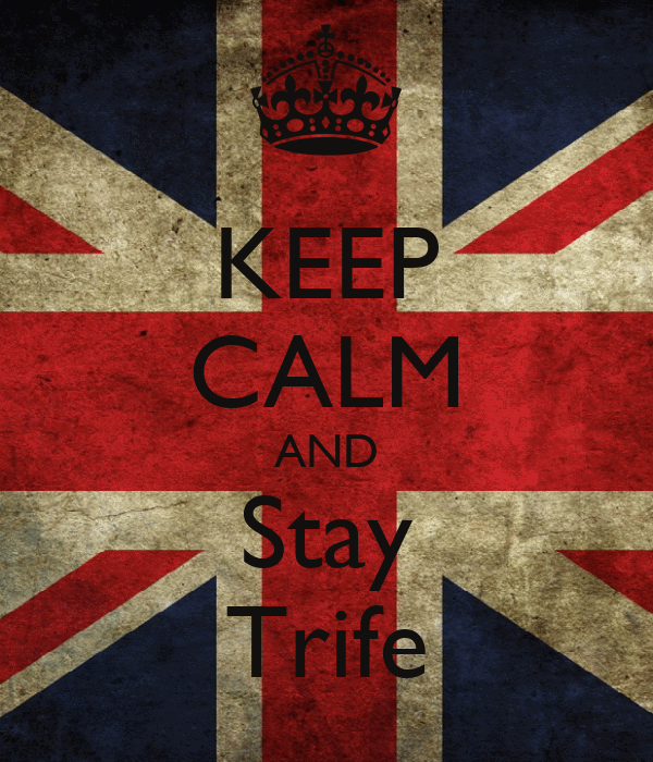 KEEP CALM AND Stay Trife
