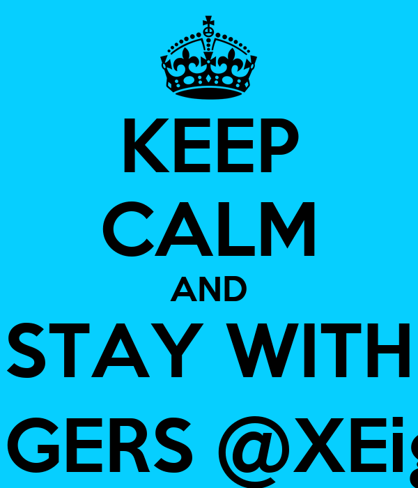 KEEP CALM AND STAY WITH JAMBLANGERS @XEighteenage
