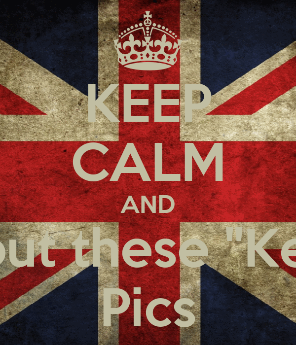 "KEEP CALM AND STFU about these ""Keep calm"" Pics"